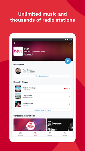 Foto do iHeartRadio: Radio, Podcasts & Music On Demand