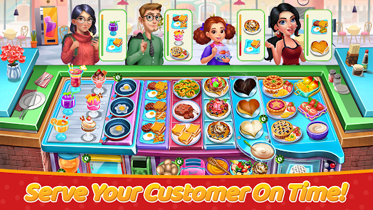 Craze Cooking Tale: Fast Restaurant Cooking Games (MOD, Unlimited Money) 5