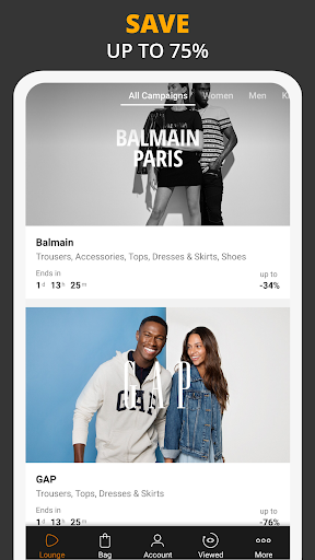 Zalando Lounge - Shopping Club 1.11.18 screenshots 1