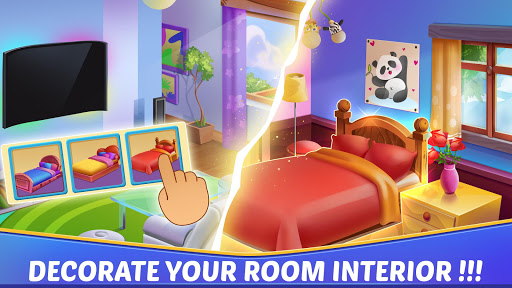 Jeux de maison et design d'intérieur APK MOD – Pièces Illimitées (Astuce) screenshots hack proof 2