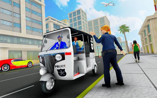 Police Tuk Tuk Auto Rickshaw Driving Game 2020 modavailable screenshots 7
