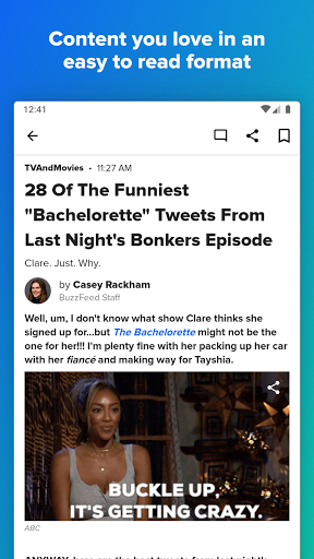 BuzzFeed: News, Tasty, Quizzes  screenshots 2