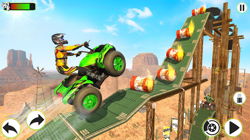 Atv Quad Bike Stunts Racing- New Bike Stunts Game 1.8 screenshots 1