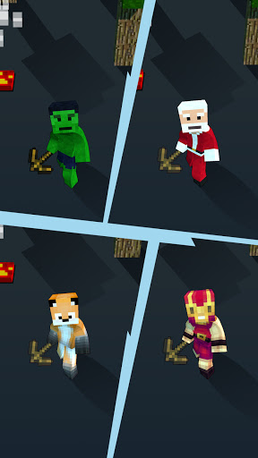 Craft Runner - Miner Rush: Building and Crafting modavailable screenshots 11
