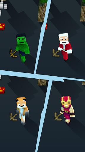 Craft Runner - Miner Rush: Building and Crafting  screenshots 11