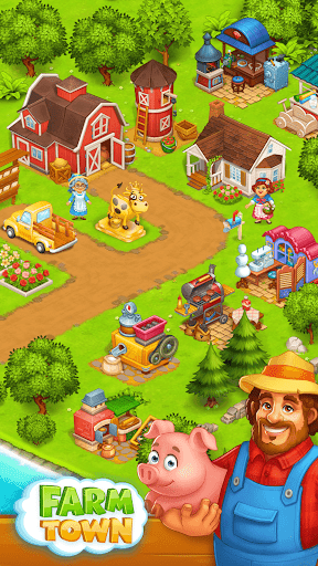 Farm Town: Happy village near small city and town  Screenshots 2