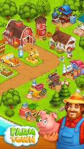 Farm Town: Happy village near small city and town 2