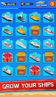 Merge Ship - Idle Tycoon Game