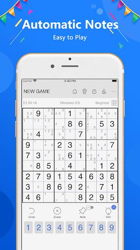 Sudoku - Classic free puzzle game 1.9.2 screenshots 18