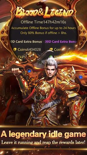 Blood & Legend:Dragon King hero mobile online game Apkfinish screenshots 7