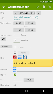 Shift Work Calendar FlexR Pro v7.11.6 Patched APK 6