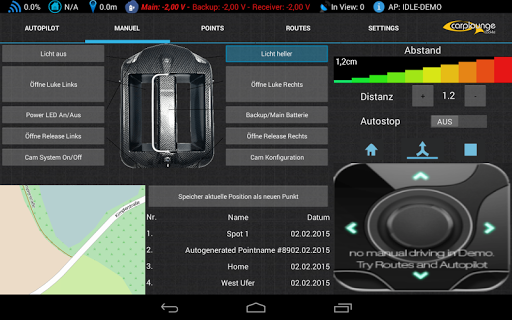 Carplounge GPS Autopilot V3 7.9.3 Screenshots 3