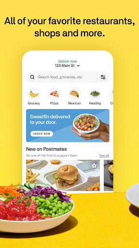 Postmates - Food, grocery & more  screenshots 1