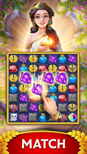 Jewels of Rome: Gems and Jewels Match-3 Puzzle apktreat screenshots 1