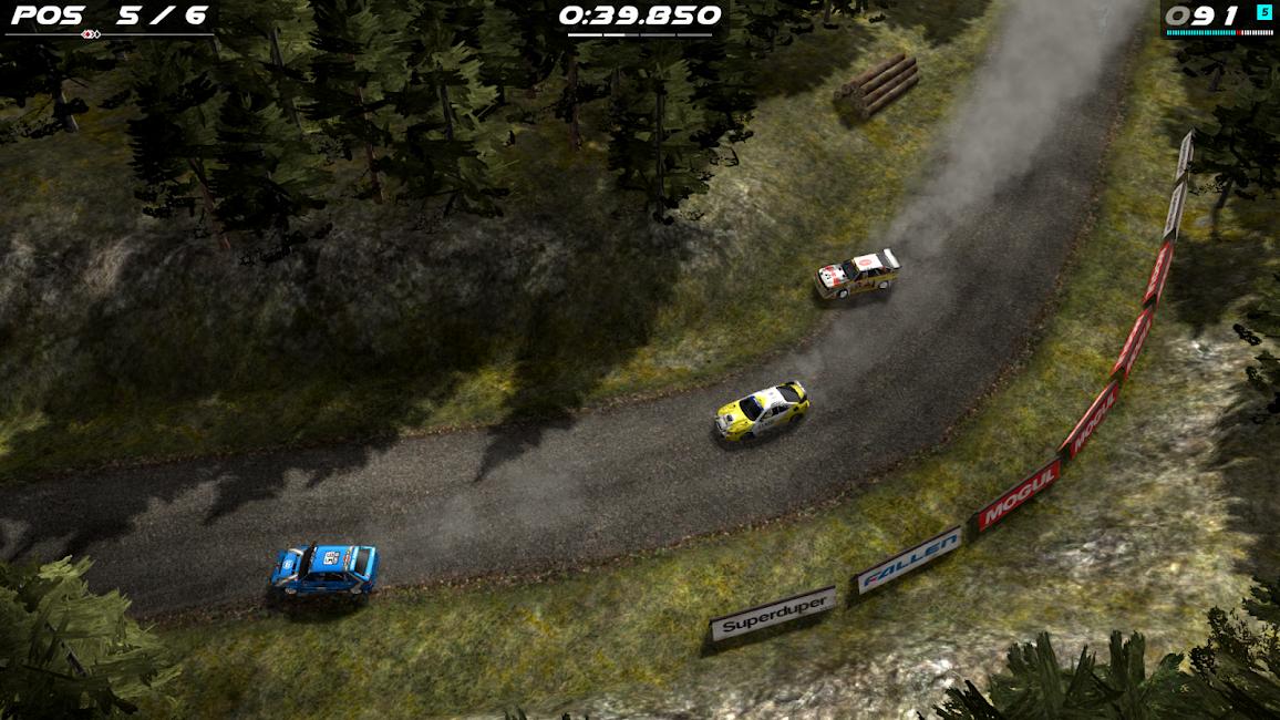 Rush Rally Origins MOD + ORIGIN APK 1.6 Unlocked Cars 2