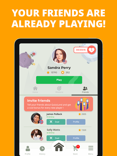 Free Trivia Game. Questions & Answers. QuizzLand.  Screenshots 24