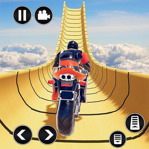 Mega Ramp Impossible Tracks Stunt Bike Rider Games APK