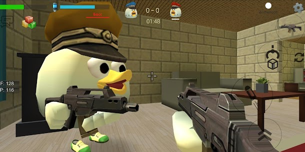 Chicken Gun MOD (Unlimited Money) 4