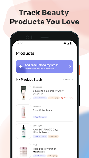 TroveSkin 2.0 Skincare Tracker Apkfinish screenshots 3