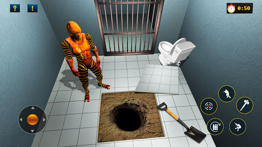 Green Alien Prison Escape Game 2021 android2mod screenshots 6
