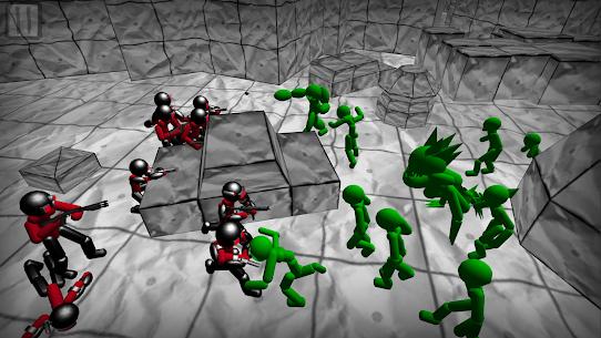 Battle Simulator: Stickman Zombie 5