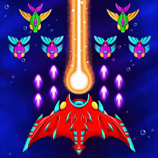 Aqua Galaxy Attack Shooter