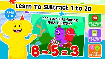 Addition and Subtraction for Kids - Math Games