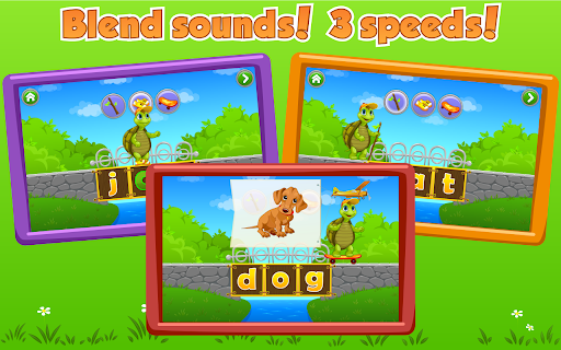 Learn to Read with Tommy Turtle 3.8.4 screenshots 1