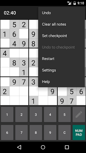 Open Sudoku 3.6.0 screenshots 5