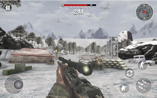 World War 2 Frontline Heroes: WW2 Commando Shooter apkdebit screenshots 3