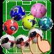 たまサッカー ~3つ以上つなげて消す簡単パズル~ - Androidアプリ