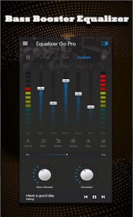 Schermata Equalizzatore Bass Booster Pro