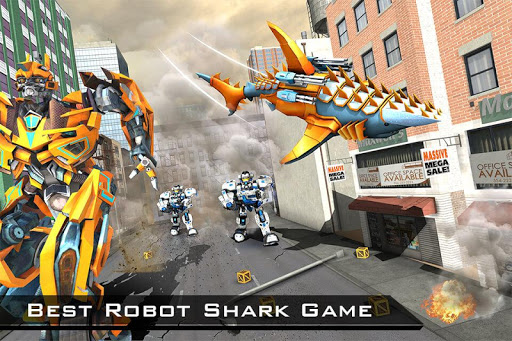 Shark Robot Transforming Games - Robot Wars 2019 screenshots 6