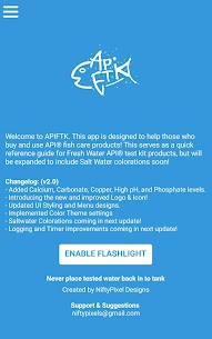 API Freshwater Kit Assistant For Pc | How To Download Free (Windows And Mac) 1