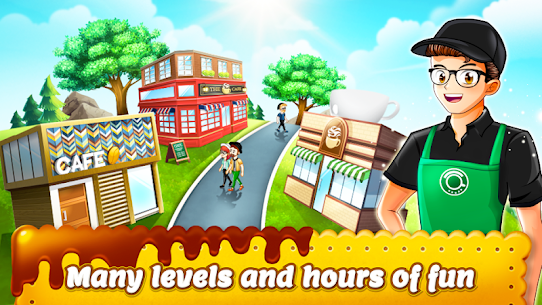 Cafe Panic: Cooking Restaurant MOD Apk 1.26.15a (Free Shopping) 4