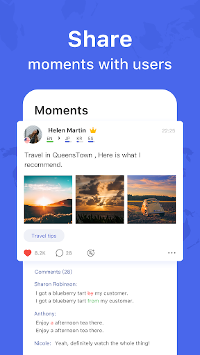 HelloTalk - Chat, Speak & Learn Languages for Free  screenshots 2
