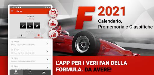Le migliori app Android per gli amanti della FORMULA 1