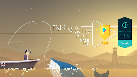 Fishing and Life (MOD, Unlimited Coins) 1