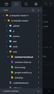 Spck Code Editor / JS Sandbox / Git Client 3