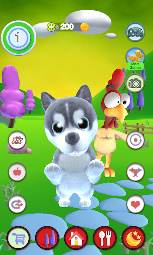 Talking Puppy And Chick 1.30 screenshots 1