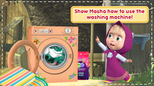 Masha and the Bear: House Cleaning Games for Girls 2.0.0 screenshots 5