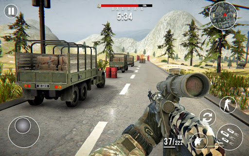 Gun Strike Fire: FPS Free Shooting Games 2021 1.2.1 screenshots 16