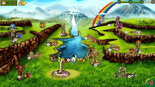 Treasure of Montezuma - 3 in a row games free  screenshots 14
