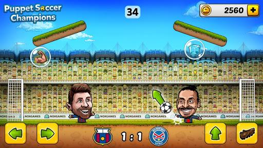 u26bd Puppet Soccer Champions u2013 League u2764ufe0fud83cudfc6 3.0.4 screenshots 3