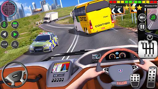 Bus Driving Simulator Games : Coach Parking School 1.7 screenshots 9