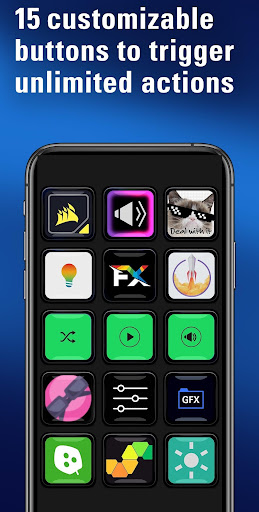 Elgato Stream Deck Mobile  Screenshots 1