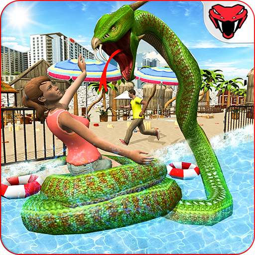 Dragon Snake Beach & City Attack Simulator