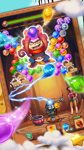 Bubble Journey -  Bubble shooter & Adventure story modiapk screenshots 1