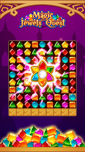 Magic Jewel Quest: New Match 3 & Jewel Games 2.0 screenshots 1