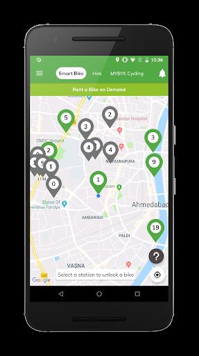 MYBYK | Bicycle Rental & Sharing android2mod screenshots 3